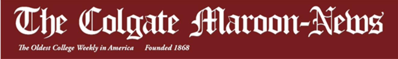 The Colgate Maroon-News