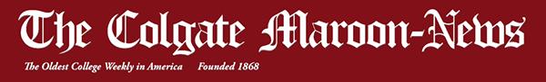 Colgate Maroon News masthead