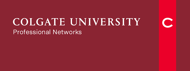 Colgate University Professional Networks Header